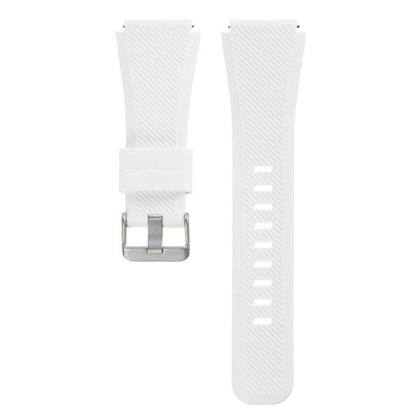 Силиконовый ремешок для Samsung Gear S3 белый