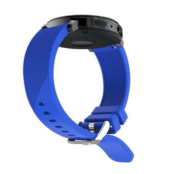 Силиконовый ремешок для Samsung Gear Sport синий
