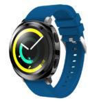 Силиконовый ремешок для Samsung Gear Sport тёмно-синий