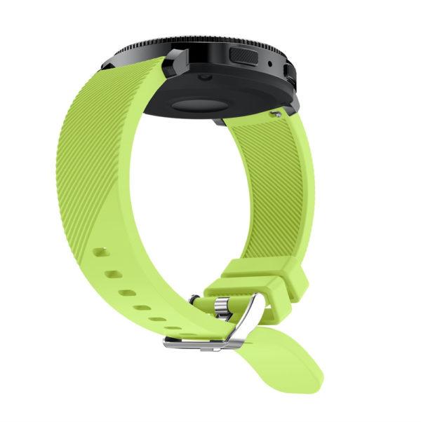 Силиконовый ремешок для Samsung Gear Sport зеленый