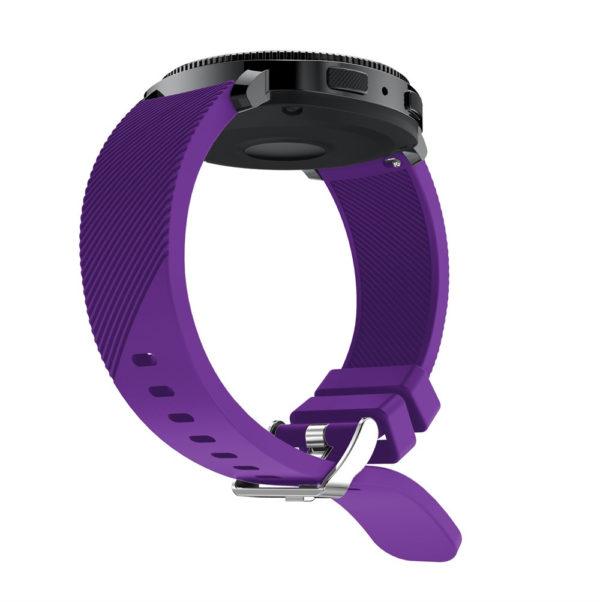 Силиконовый ремешок для Samsung Gear Sport фиолетовый
