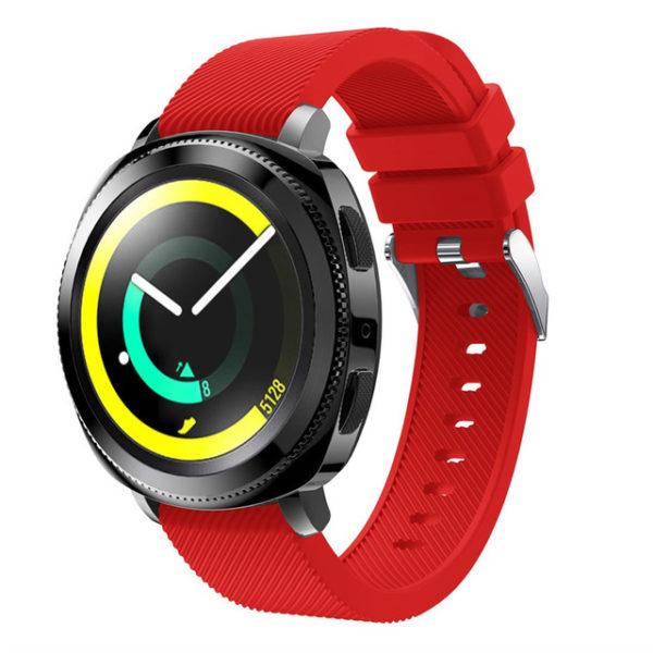Силиконовый ремешок для Samsung Gear Sport красный