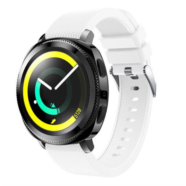 Силиконовый ремешок для Samsung Gear Sport белый
