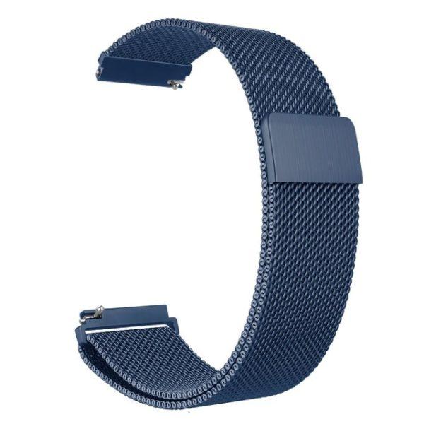 Металлический ремешок Milanese Loop для Samsung Gear S3 синий