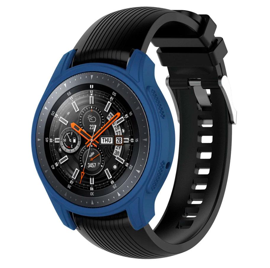 Силиконовый чехол для Samsung Gear S3 / Samsung Galaxy Watch 46mm - синий