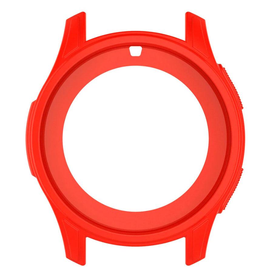 Силиконовый чехол для Samsung Gear S3 / Samsung Galaxy Watch 46mm - красно-оранжевый